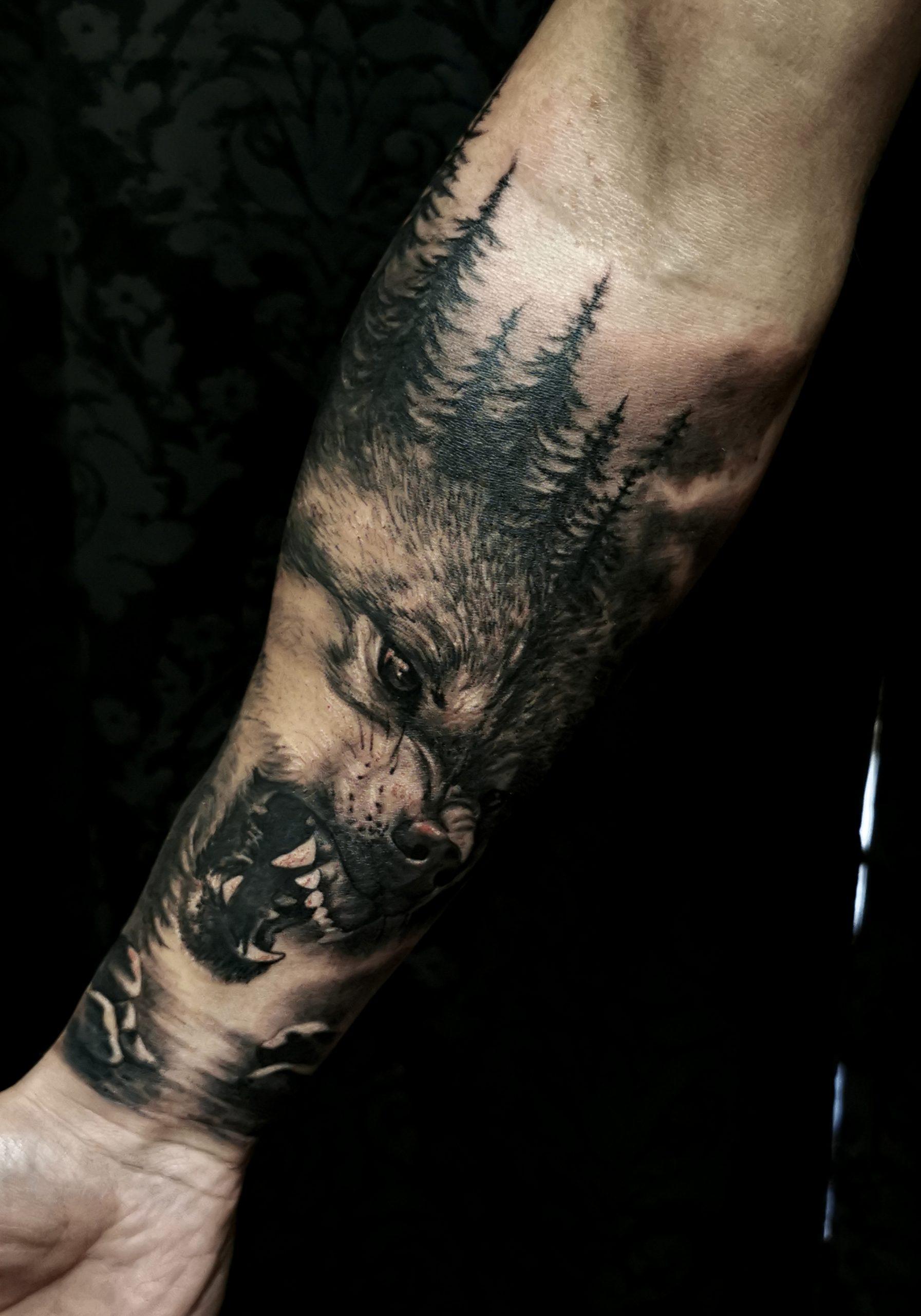 Tattooidee Wolf